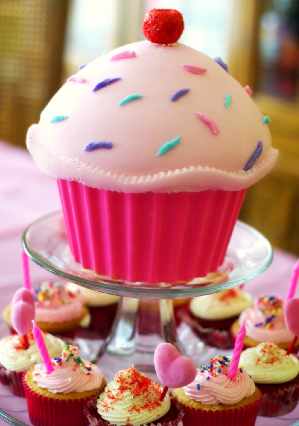 Big Cupcake Images : Big Cupcakes, Birthday Parties, 1St Birthday, First ...